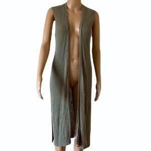 TARGET   Longline sleeveless cardigan